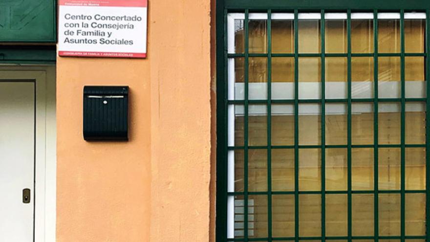Fachada del Centro de Día de Soporte Social (CD) Ciudad Lineal