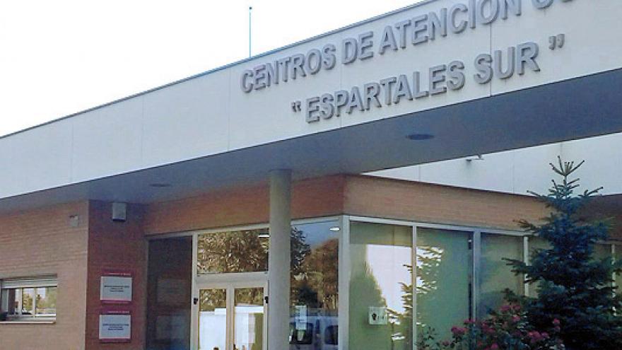 Fachada del Centro de Día de Soporte Social (CD) y Centro de Rehabilitación Laboral (CRL) Espartales Sur - Alcalá de Henares