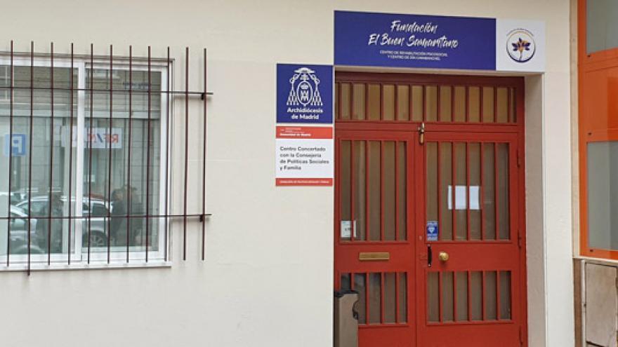 Fachada del Centro de Día de Soporte Social (CD) y Centro de Rehabilitación Psicosocial (CRPS) Carabanchel