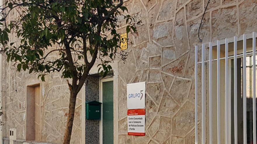 Fachada del Centro de Rehabilitación Laboral (CRL) Collado Villalba