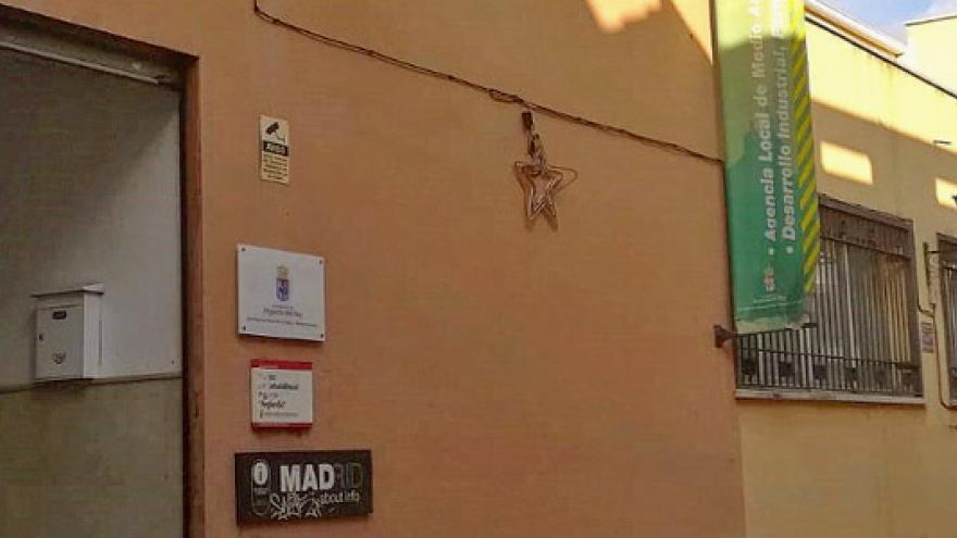 Fachada del Centro de Rehabilitación Psicosocial (CRPS) Arganda