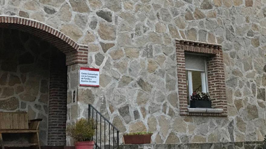 Fachada del Centro de Rehabilitación Psicosocial (CRPS) y Centro de Rehabilitación Laboral (CRL) Hortaleza