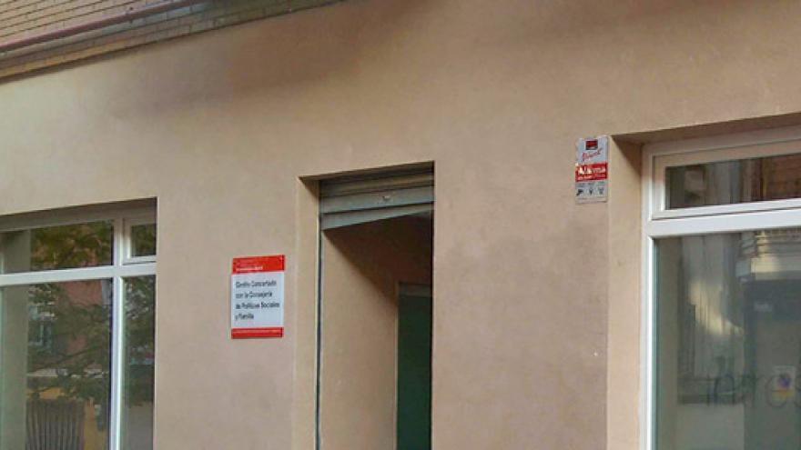 Fachada del Centro de Rehabilitación Psicosocial (CRPS) Puente de Vallecas