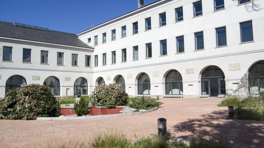 Fachada del Conservatorio Superior de Danza María de Ávila