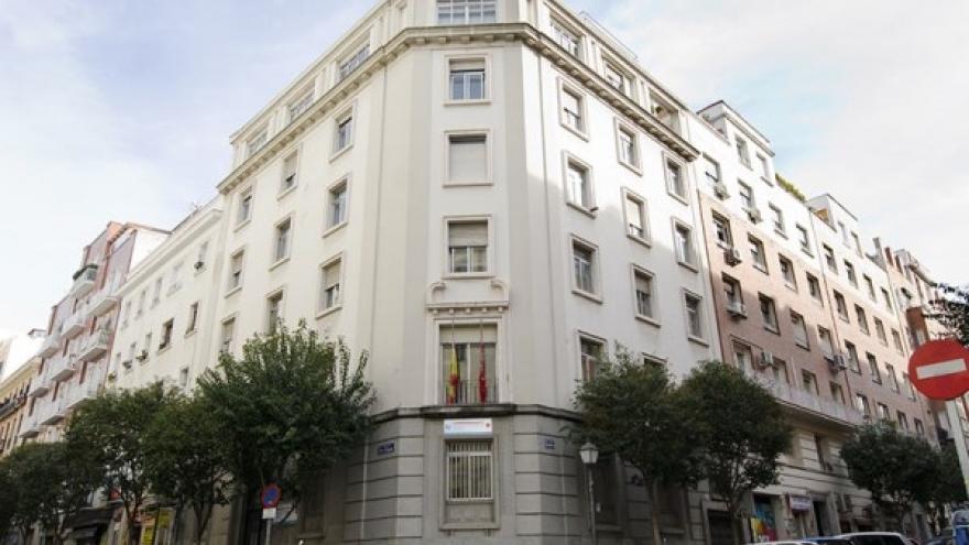 Fachada del Centro de Salud Mental de Retiro (Madrid)