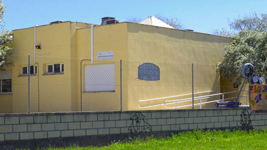 Fachada del Centro Municipal de Día San Luis Gonzaga de Valdemoro