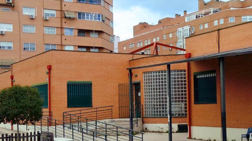 Fachada del Centro de Día CEPRI La Peineta