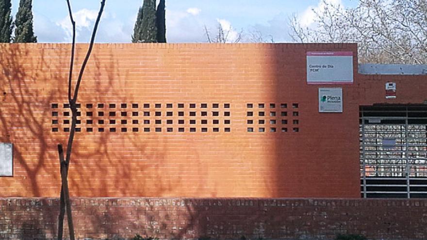 Fachada del Centro de Día Fundación Carlos Martín