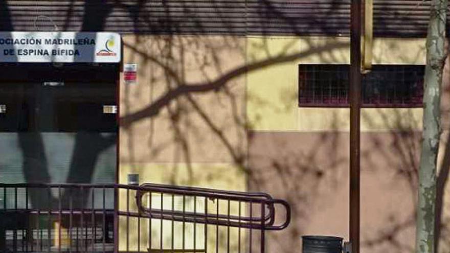 Fachada del Centro de Rehabilitación AMEB Astorga