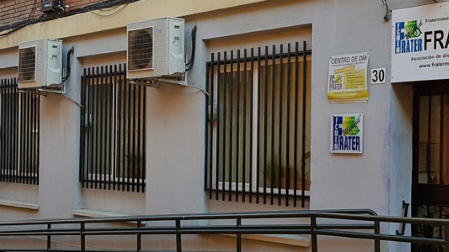 Fachada del Centro de Rehabilitación FRATER