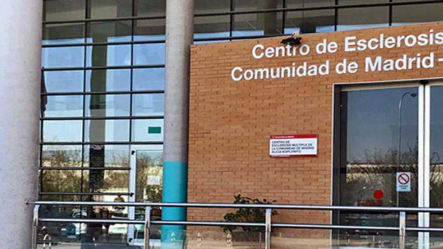 Fachada del Centro de Esclerosis Múltiple de la Comunidad de Madrid Alicia Koplowitz