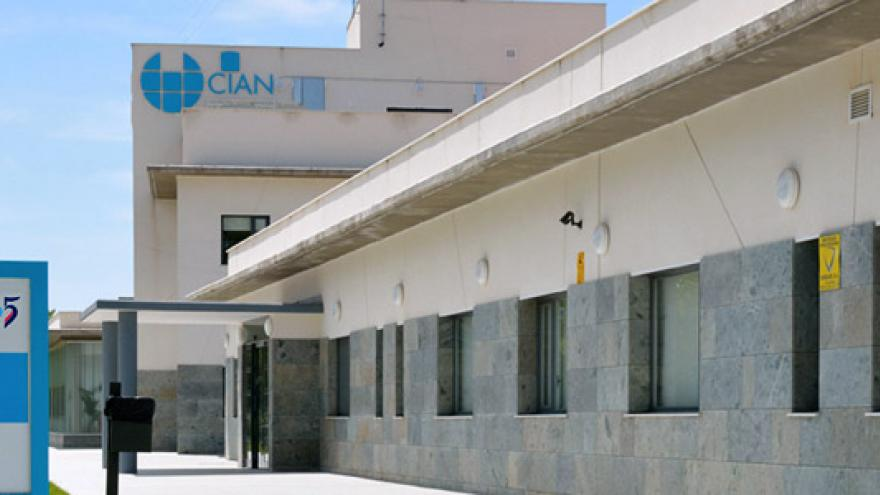 Fachada de la Residencia y Centro de Día CIAN Grupo 5