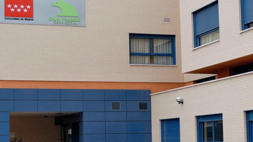Fachada de la Residencia y Centro de Día Getafe para personas con discapacidad física