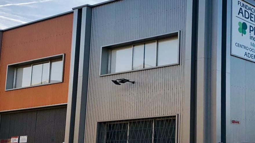 Fachada del Centro Ocupacional ADEMO I