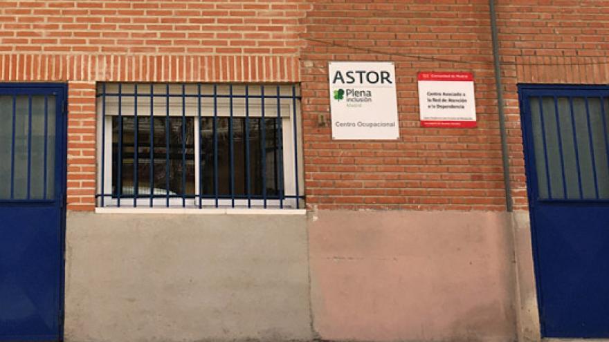 Fachada del Centro Ocupacional ASTOR