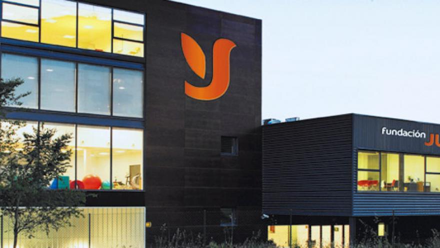 Fachada del Centro Ocupacional y Centro de Día Fundación Juan XXIII Roncalli