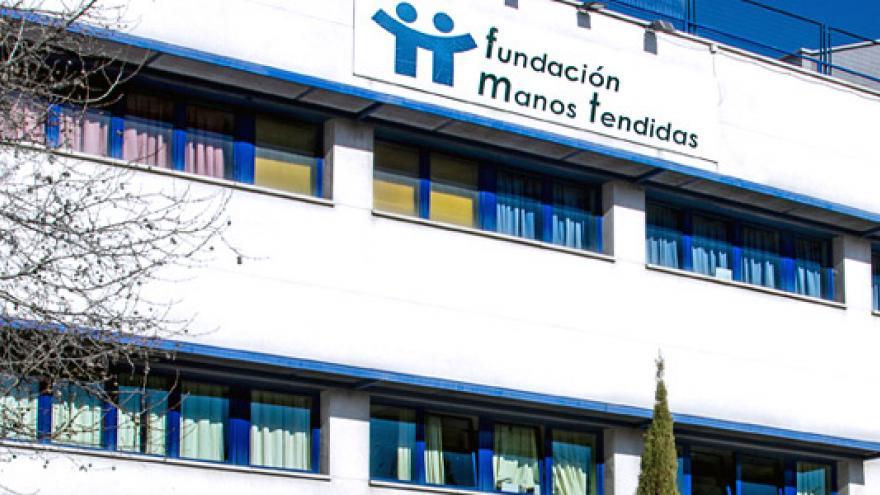 Fachada del Centro Ocupacional y Centro de Día Manos Tendidas Arganzuela