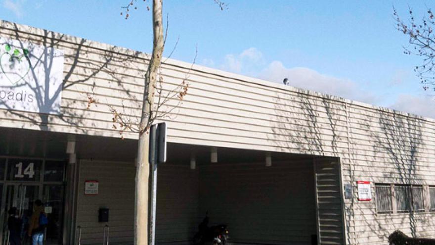 Fachada de la Residencia, Centro de Día y Centro Ocupacional APADIS