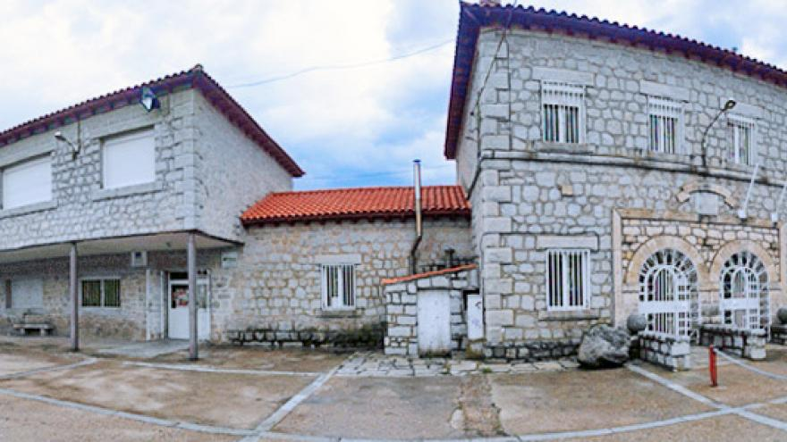 Fachada del Centro Ocupacional Mancomunidad Sierra Norte
