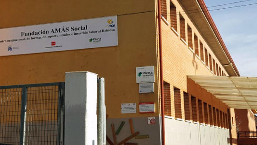 Fachada del Centro Ocupacional Reinosa - Grupo AMÁS