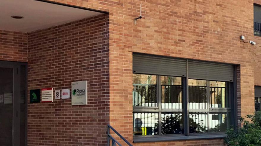 Fachada de la Residencia y Centro Ocupacional APADEMA