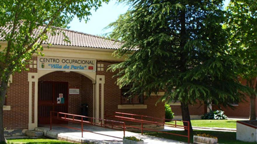 Fachada del Centro Ocupacional Municipal Villa de Parla