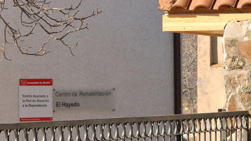 Fachada del Centro de Rehabilitación El Hayedo