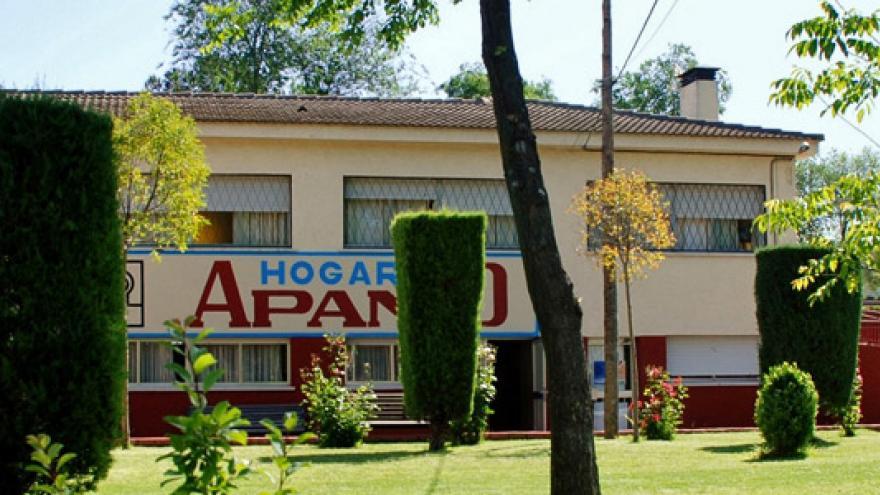 Fachada del Hogar Residencia II APANID