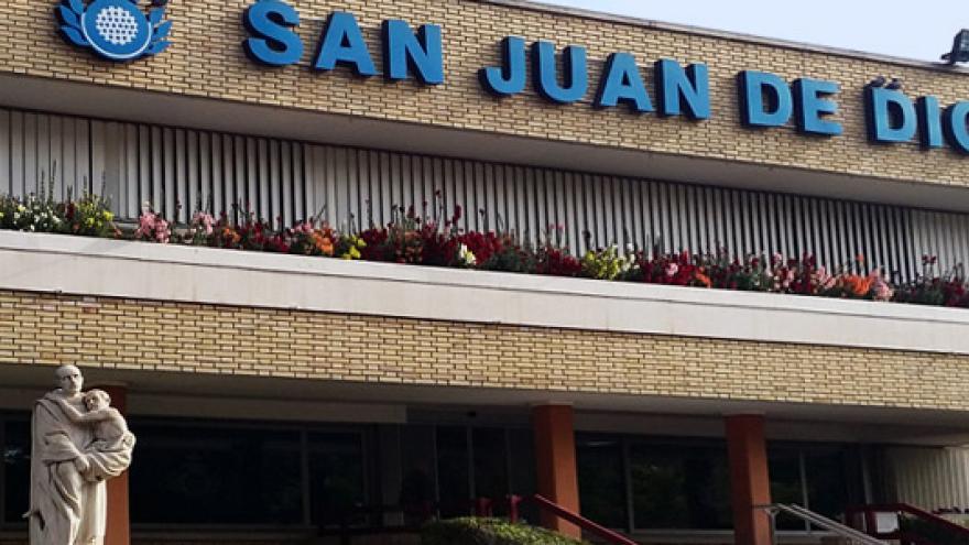 Fachada del Centro San Juan de Dios de Ciempozuelos