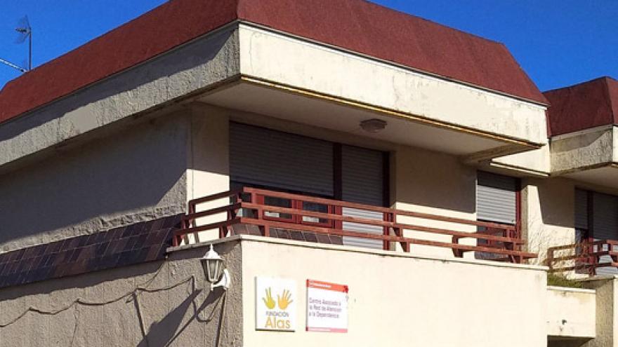 Fachada de la Residencia Fundación Alas Madrid