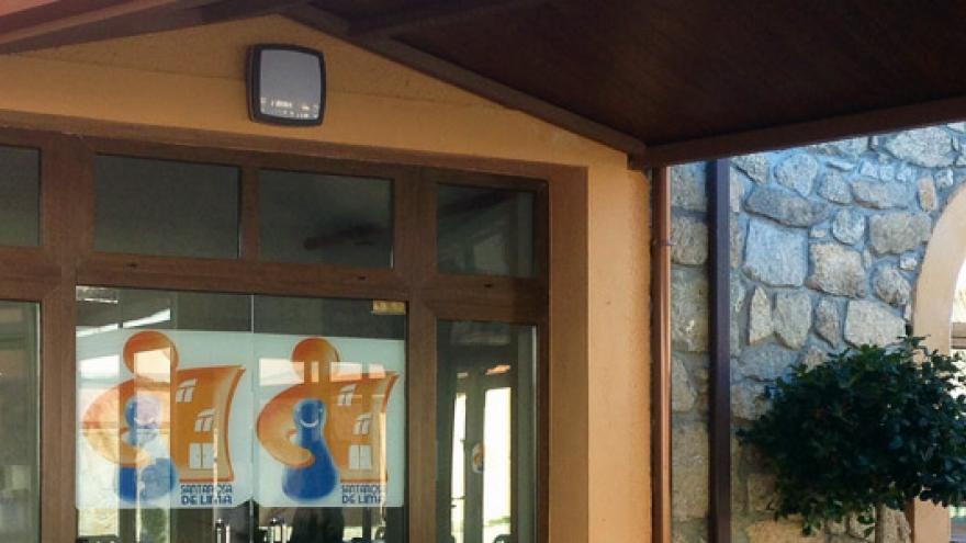 Fachada de la Residencia Santa Rosa de Lima