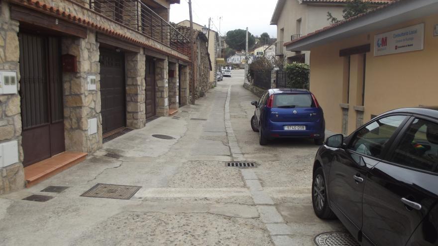 Acondicionamiento de la calle Álamos en Cervera de Buitrago