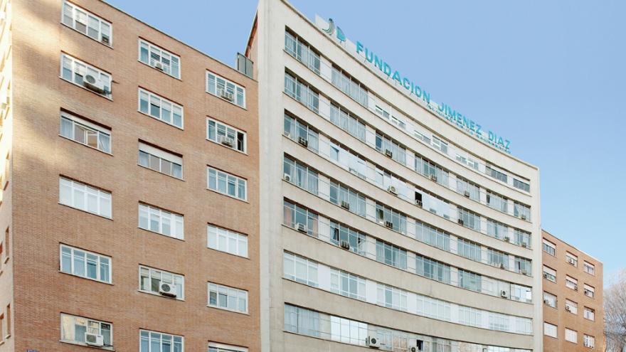 Fachada Hospital Fundación Jimenez Díaz