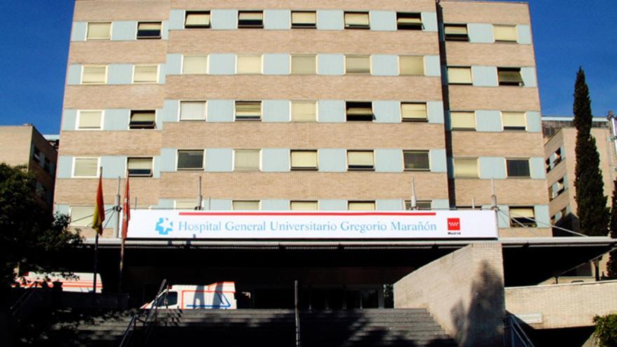 Fachada principal del Hospital Universitario Gregorio Marañón