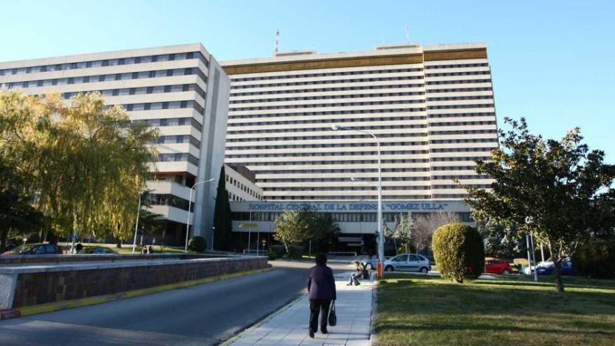 Fachada del hospital Gómez Ulla