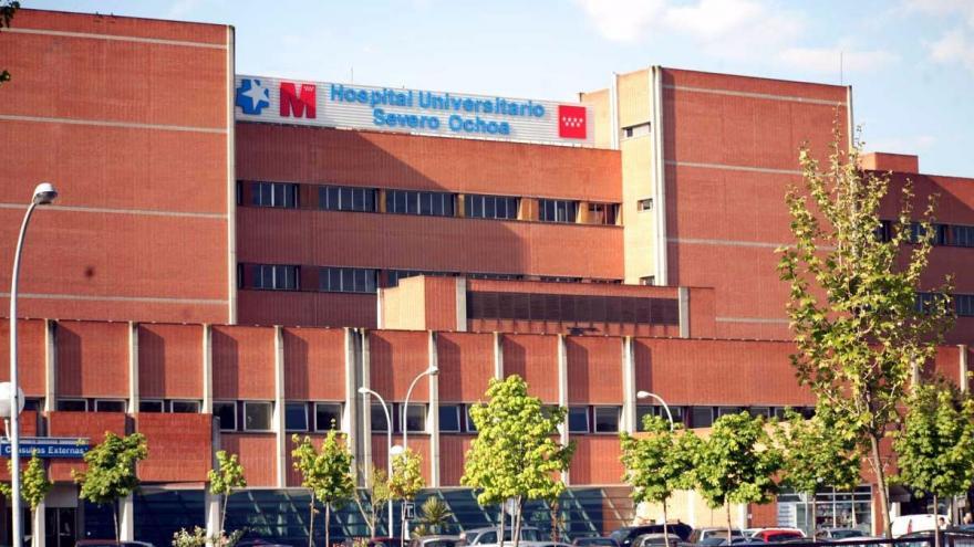 fachada del hospital Severo Ochoa