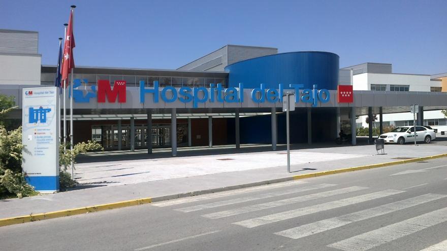 Fachada del Hospital del Tajo