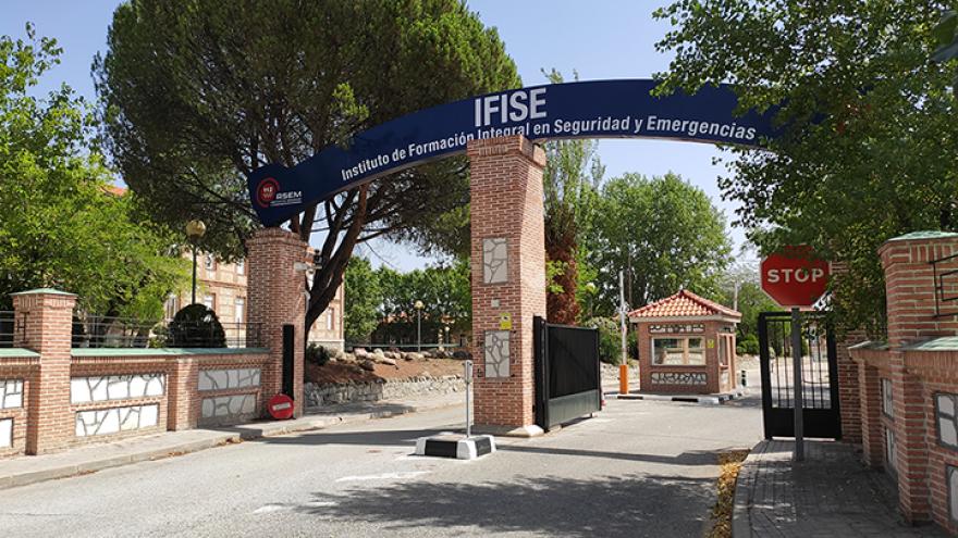 Entrada al Instituto de Formación Integral en Seguridad y Emergencias