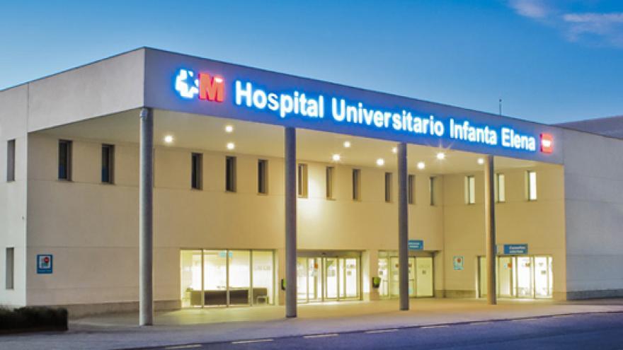 Foto del exterior del Hospital Infanta Elena