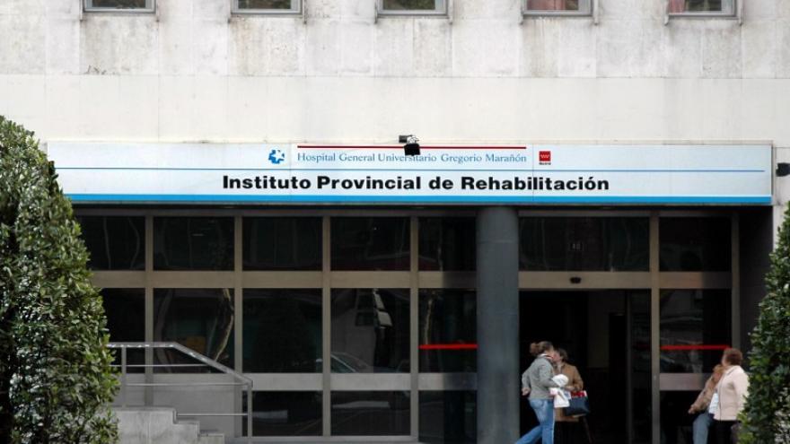 Fachada del Instituto Provincial de Rehabilitación de Madrid