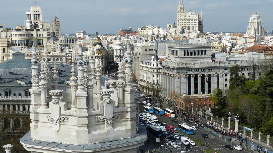 Calle comercial de Madrid