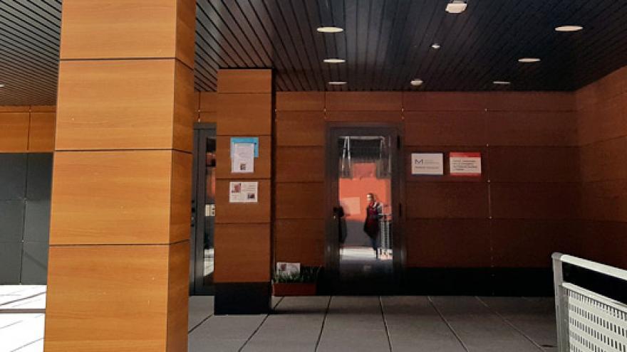 Fachada de la Residencia (MR) Fuenlabrada para personas con enfermedad mental