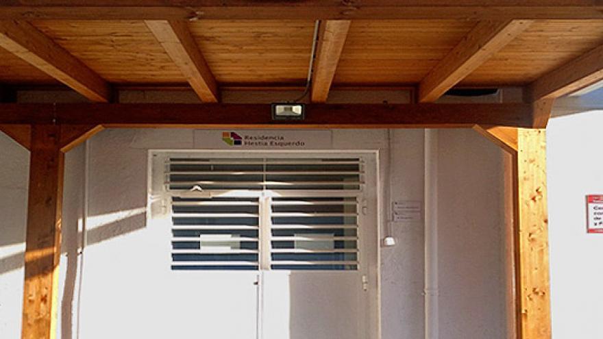 Fachada de la Residencia (MR) Hestia Esquerdo para personas con enfermedad mental
