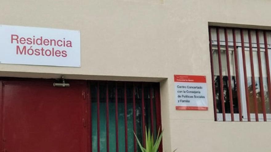 Fachada de la Residencia (MR) Móstoles para personas con enfermedad mental