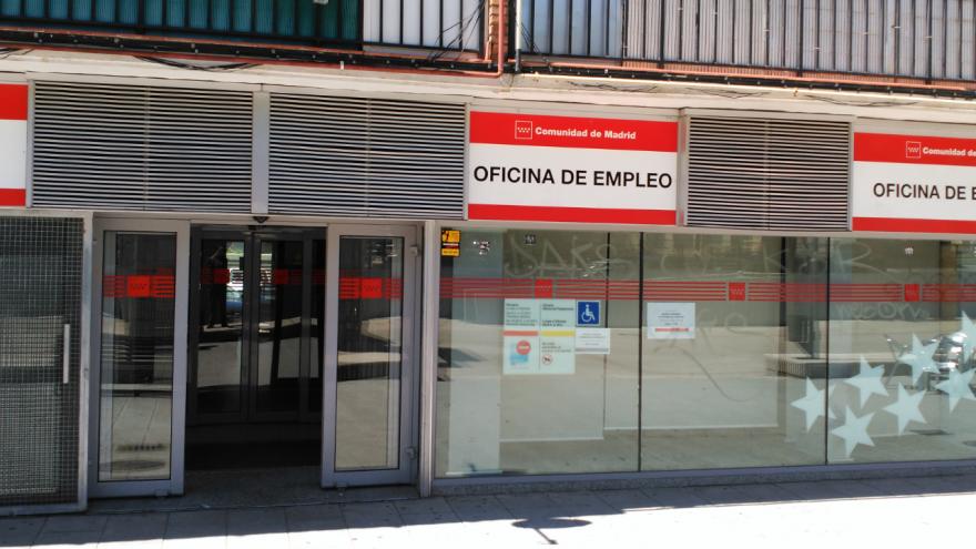 Uno de los centros de la red de oficinas de empleo de la Comunidad de Madrid