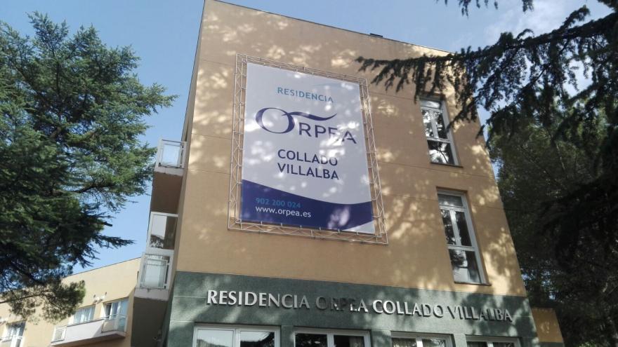 Fachada residencia Orpea Collado Villalba