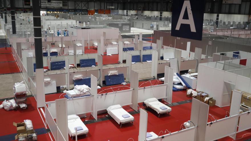 Pabellón 7 Hospital de la Comunidad de Madrid en IFEMA
