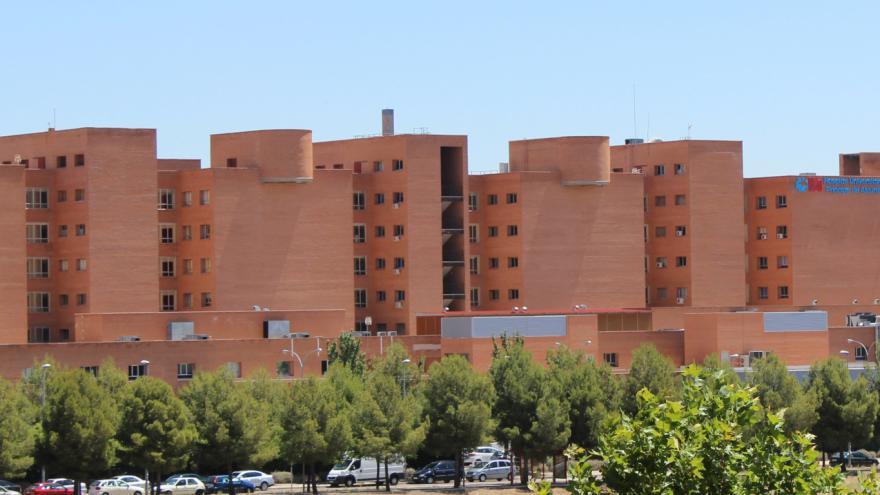 Hospital Universitario Príncipe de Asturias. En Alcalá de Henares