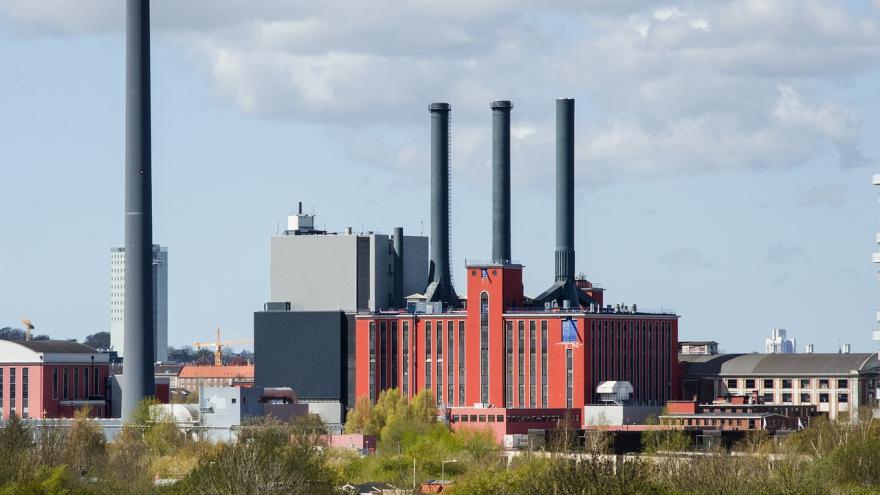 Exterior de una fábrica