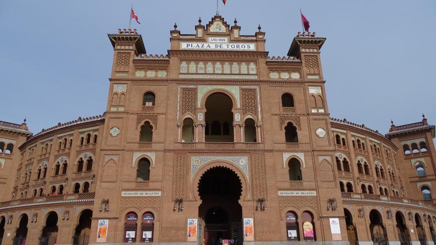 Fachada de la Plaza de Toros de las Ventas Puerta Grande